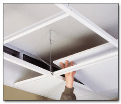 Acoustical Ceilings, Suspended Ceilings, Dropped Ceilings by