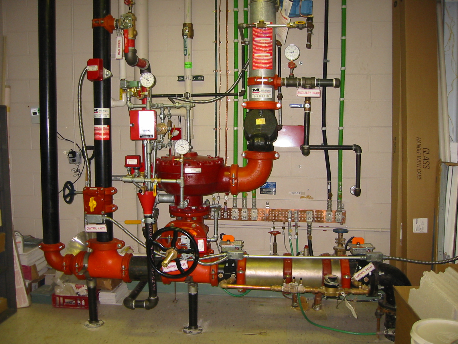 Fire protection systems by contractors solutions inc for Fire sprinkler system cost calculator