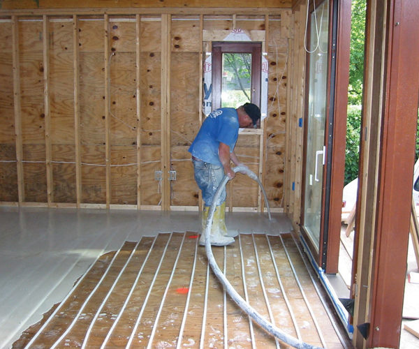 Radiant heating installations cost information and trade for How much does pex cost